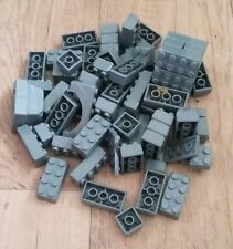 150g of Assorted Grey Mega Bloks NOT 100% MEGA BLOKS Toys Kids Knex Duplo