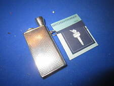 C. 1920 SILVER FLINT LIGHTER STRIKER VESTA CASE MATCH SAFE  & CIGAR PIERCER