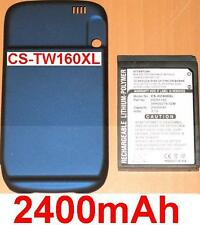 Coque + Batterie 2400mAh type 35H00078-02M HERA160 Pour T-Mobile Wing US