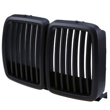 Black Finish Sport Grill front radiator Grill Kidney Grill for BMW E30 1982-1993