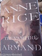 The Vampire Armand by Anne Rice (1998, Hardcover) First Edition Great Gift