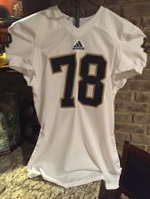 Notre Dame Football 2013 Game Used Adidas Jersey #78 Ronnie Stanley