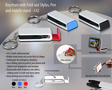 key chain fold -out stylus,pen,and mobile stand  J62 aarav enterprises Pack of 5