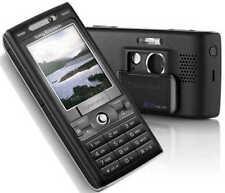 Sony Ericsson Cyber-shot k800i-Velvet Negro (sin bloqueo SIM) k800i nuevo