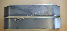 """Trailer Mudguards Tandem-9 inch Wide -4 Fold 84"""" Long! Smooth Finish! Trailers"""