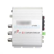 Mini Hi-Fi Stereo 12V Audio Amplifier High quality Sound for MP3 MP4 Car Moto CD