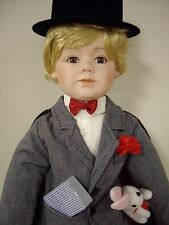 """William Tung Collection, 23"""" Inch Porcelain Doll, """"Alex"""""""
