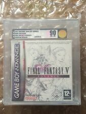 NEW SEALED FINAL FANTASY V 5 ADVANCE NINTENDO GAMEBOY ADVANCE VGA / UKG 90