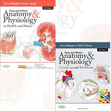Ross and Wilson Collection 2 Books(Anatomy and Physiology Colouring and Workbook