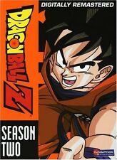 Dragon Ball Z Dragonball Z Season 2 Two (DVD, 2009, 6-Disc, Uncut; Remastered)