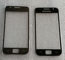 Front verre vitre Display Noir Black pour samsung galaxy s i9000 gt-i9000 NEUF