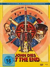 JOHN DIES AT THE END - Limited Edition Mediabook - Blu Ray / Dvd