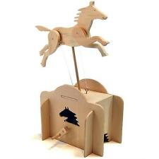 Pathfinders Make Your Own Jumping Horse Automata Wood Kit
