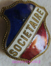 BG7003 - INSIGNE BADGE TRICOLORE - SOCIETAIRE
