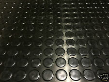 2M RUBBER FLOOR MATTING COIN / PENNY STUD ANTI SLIP 1.5m WIDE x 3mm CATTLE CRUSH
