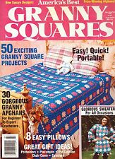 ~AMERICA'S BEST GRANNY SQUARES MAGAZINE ~ FALL/WINTER 1990 ~ 50 GREAT PATTERNS ~