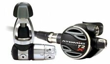 Atomic T2X First & Second Stage Regulator for Scuba Diving, Yoke
