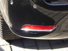 Chromstreben für Peugeot 508 SW Reflektoren Stoßstange hinten Chrom Tuning