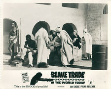 Slave Trade in the World Today original lobby card Arab market place for women