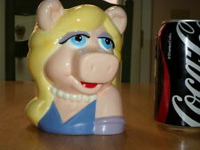 JIM HENSON - MUPPET - MISS PIGGY, Cartoon Graphic, Ceramic Coffee Mug, Vintage