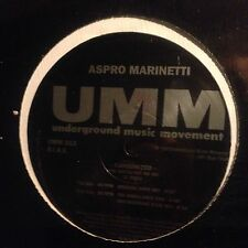 ASPRO MARINETTI • Carbonized • Vinile 12 Mix • 1881 UMM