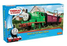 Hornby R9284 Percy and the Mail Train OO Gauge Thomas & Friends Train Set New