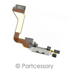 Charging Port Dock BLACK Charger Connector Flex Cable FOR iPhone 4 GSM 4G AT&T