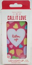 NWT LED Light-Up Heart Phone Case - Listen Up - iPhone 5/5S