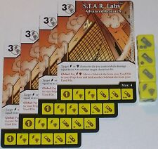 4 x S.T.A.R. LABS: ADVANCED RESEARCH 33 Green Arrow and The Flash Dice Masters