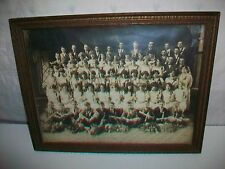 Vintage 1925 Framed Picture Graduation or Confirmation Class Boys & Girls