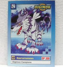 DIGIMON TRADING CARDS - GARURUMON 20/34 - CARTE UFFICIALI SERIE TV-1a SERIE
