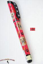 Puggle Dog Gel Replaceable Writing Pen Ballpoint Black Ink