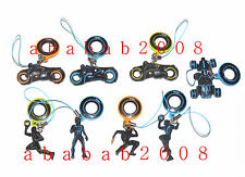 Takara Tomy Disney Tron Legacy figure strap gashapon set (full set of 8 figures)