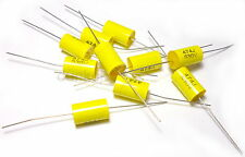 10x Capacitor 0.47uF 470nF 630V Polypropylene Axial Valve Metal Film UK