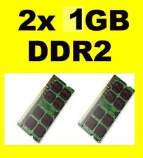 Memoria RAM per Acer Aspire 5630 - 5680 series - 2GB 2x1GB PC2-5300S DDR2 667mhz