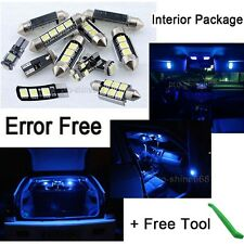 Canbus Fit Benz M class W 163 2005 Interior Package Kit + Tool Light Xenon Blue