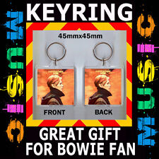 DAVID  BOWIE - LOW - DAVID  BOWIE - 45X45 mm KEYRING - CD COVER #1