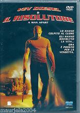 Il risolutore (2003) DVD NUOVO SIGILLA Vin Diesel. Timothy Olyphant. F Gary Gray