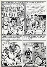 FINALE DE COUPE FOOTBALL (ROBERT HUGUES) PLANCHE ORIGINALE PILAR SANTOS PAGE 31