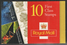 HBA3 / DB12(24) 9mm Left Band 8 x 1st Class & 2 x Commemoratives Barcode Booklet