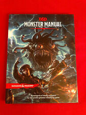 Monster Manual 5e - WOTC, Dungeons and Dragons (2014)