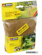 Noch HO O 07111 Static Wild Grass XL LONG Beige 12mm 1.4oz *NEW $0 SHIP