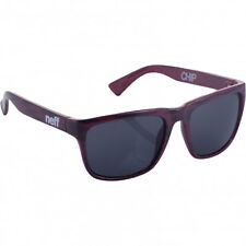 Neff Men's Chip Sunglasses Maroon Lifestyle Skate Streetwear Clothing
