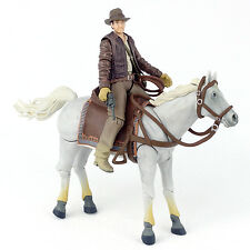 "Indiana Jones Raiders of the Lost Ark INDY & HORSE 4"" Action Figure Hasbro 2008"
