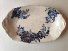 ANTIQUE/VINTAGE JOHNSON BROS 'PARIS' SMALL OVAL DISH~Rd No 745660