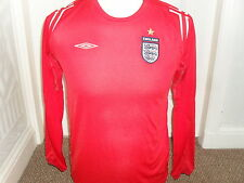 England 2004-06 Away Shirt Long Sleeved