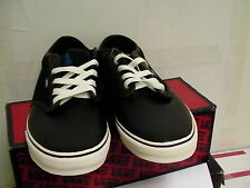 Vans skating shoes atwood black/sudan/antique size 12 us new with box