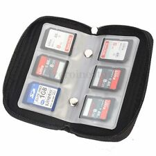 Portable CF/SD/MS/DS Memory Card Storage Bag Pouch Case Wallet Holder Travel