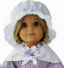 Colonial Era Mob Cap & Kerchief for American Girl Dolls Felicity Elizabeth
