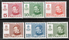 Greenland Royal Visit stamps set 1970 MNH